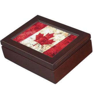 カナダの旗 ジュエリーボックス