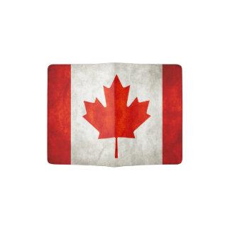 カナダの旗 パスポートカバー