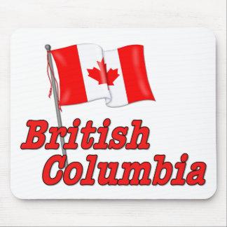 カナダの旗-ブリティッシュ・コロンビア マウスパッド