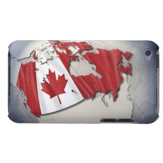 カナダの旗 Case-Mate iPod TOUCH ケース
