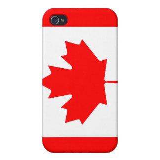 カナダの旗 iPhone 4/4S COVER