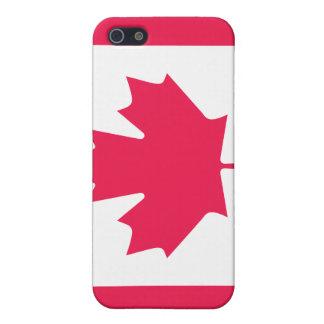 カナダの旗 iPhone 5 CASE
