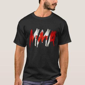 カナダの旗MMAのワイシャツ Tシャツ