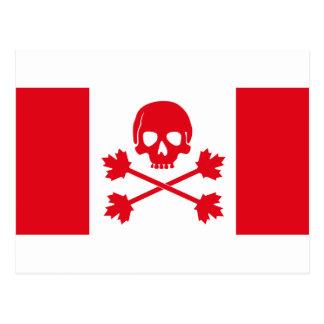 カナダの海賊旗 ポストカード