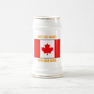 カナダの男性アイスホッケー- 2010年の金メダル ビールジョッキ