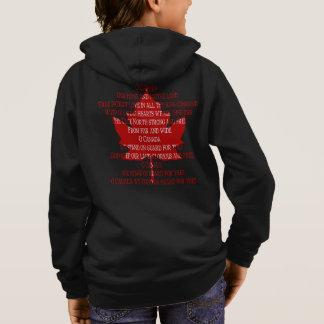 カナダの祝歌のフード付きスウェットシャツの子供の記念品のカナダのワイシャツ スウェットシャツ