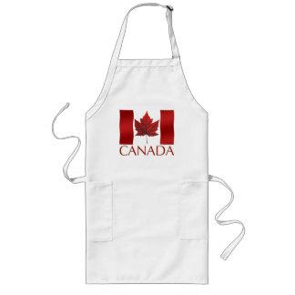 カナダの記念品のエプロンカナダのカエデの葉の記念品 ロングエプロン