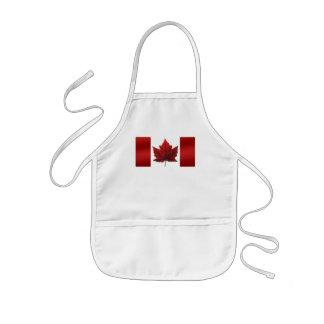 カナダの記念品のエプロンカナダのカエデの葉の記念品 子供用エプロン