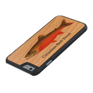 カナダの赤いマスの魚 ケース
