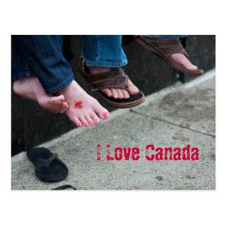 カナダの郵便はがき ポストカード