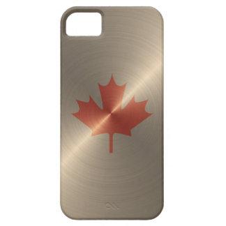 カナダの金ゴールドのカエデの葉 iPhone SE/5/5s ケース
