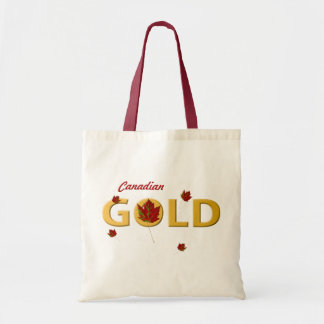 カナダの金ゴールド トートバッグ