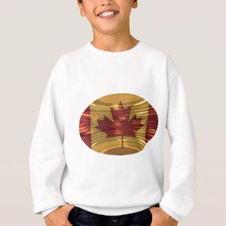 カナダの金ゴールドMapleLeaf -多様性の成功 スウェットシャツ