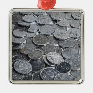 カナダの銀貨 メタルオーナメント