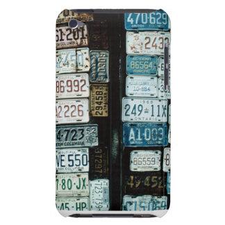 カナダの鑑札のコラージュ Case-Mate iPod TOUCH ケース