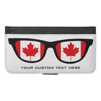 カナダの陰の習慣のウォレットケース iPhone 6/6S PLUS ウォレットケース