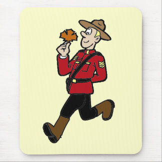 カナダの騎馬警察官 マウスパッド