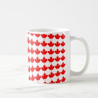 カナダはかえでの葉を曲げました コーヒーマグカップ