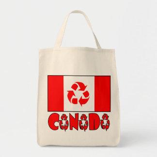 カナダはリサイクルしました トートバッグ