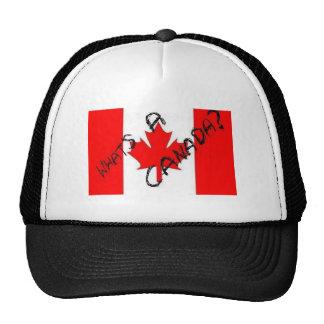 カナダは何ですか。 トラッカー帽子
