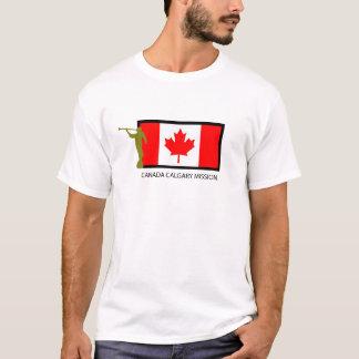 カナダカルガリーの代表団LDS CTR Tシャツ