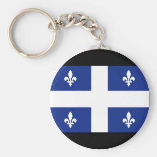 カナダケベックの旗 キーホルダー