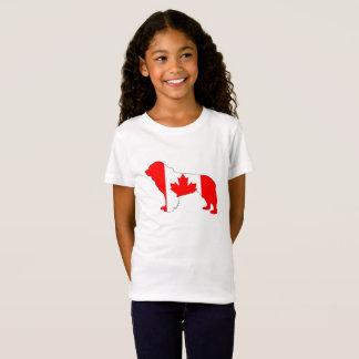 カナダニューファウンドランド犬 Tシャツ