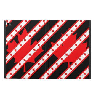 カナダ人のストライプな旗 POWIS iPad AIR 2 ケース