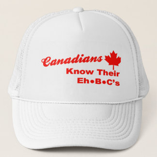 カナダ人は彼らのB Cの帽子を知っています キャップ