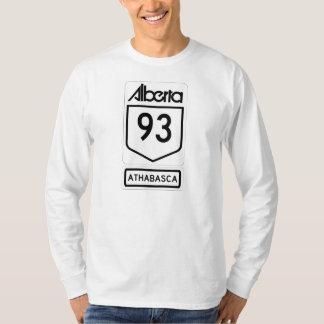 カナダ人ロッキー山脈- Athabasca Tシャツ