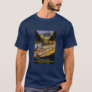 カナダ人ロッキー山脈 Tシャツ