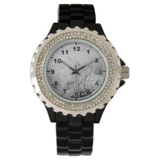"""""""カナダ人5ドルの硬貨""""のデザインの腕時計 腕時計"""