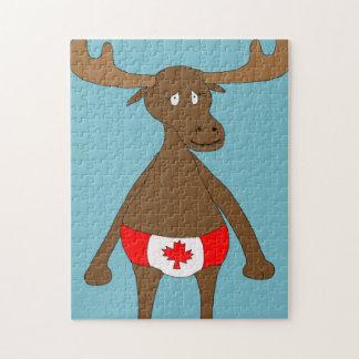 カナダ人、か。 アメリカヘラジカのパズル ジグソーパズル