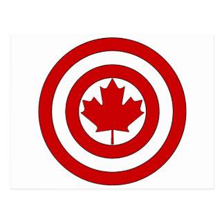 カナダ大尉の盾の記号 ポストカード