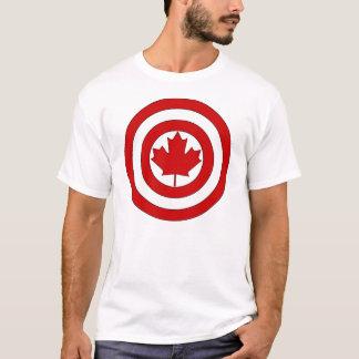 カナダ大尉の盾の記号 Tシャツ