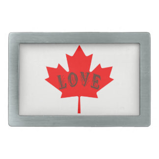 カナダ日のカエデの葉愛カスタムなベルトの留め金 長方形ベルトバックル