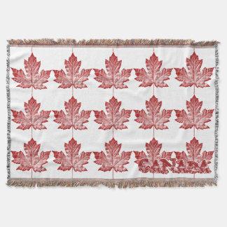 カナダ毛布のカッコいいのカナダの記念品のブランケット スローブランケット