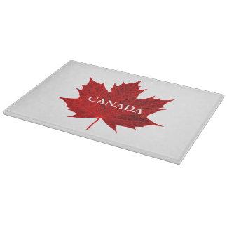 カナダ活気に満ちたアメリカハナノキの葉またはカスタマイズ可能 カッティングボード
