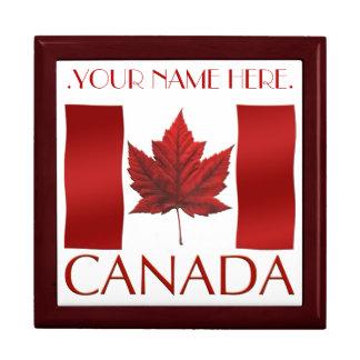 カナダ箱のカナダの旗の記念品の宝石箱のギフト ギフトボックス