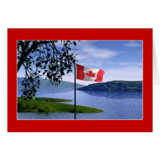 カナダ色 カード