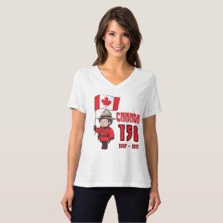 カナダ記念日150年の Tシャツ