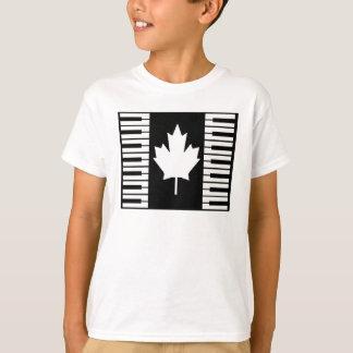 カナダ音楽Tシャツの男の子 Tシャツ