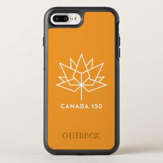カナダ150のロゴ オッターボックスシンメトリーiPhone 8 PLUS/7 PLUSケース