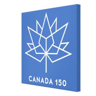 カナダ150のロゴ キャンバスプリント