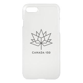 カナダ150の役人のロゴ-黒い輪郭 iPhone 8/7 ケース