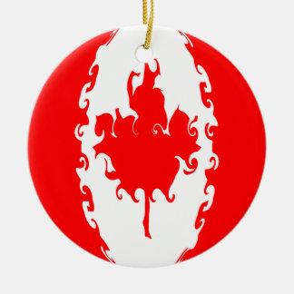 カナダ|すごい|旗 クリスマスツリーオーナメント