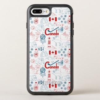 カナダ|の記号パターン オッターボックスシンメトリーiPhone 8 PLUS/7 PLUSケース