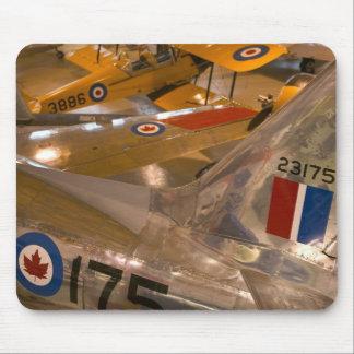 カナダ、アルバータ、カルガリー: 航空機の宇宙博物館の マウスパッド