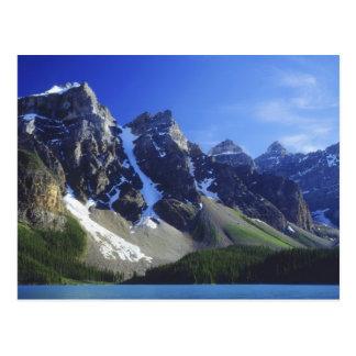 カナダ、アルバータ、バンフ国立公園、氷堆石 ポストカード