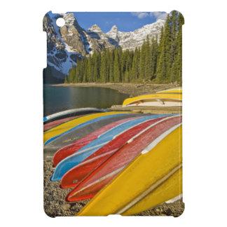 カナダ、アルバータ、バンフ国立公園、氷堆石 iPad MINIカバー